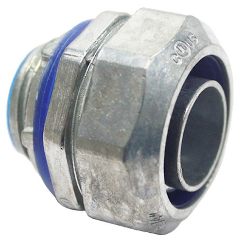 3 Thread Size 3 Thread Size Morris Product Morris 15128 Insulated Throat Straight Squeeze Box Connector