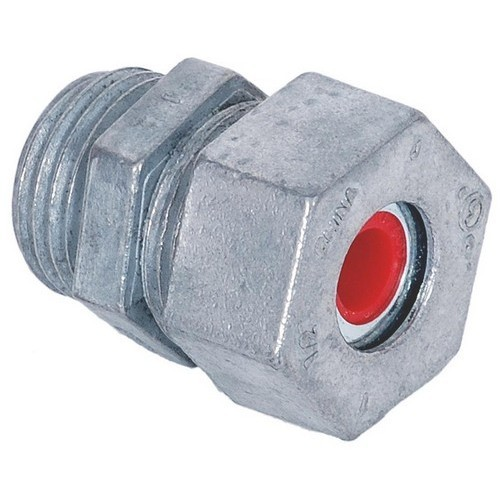 "Cord Grips - Zinc Die Cast  1/2"" Red"