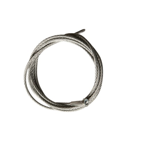 17210 Wire Rope with Tee Crimp End Stop 1/8