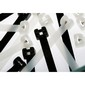 Natural Nylon Cable Tie Stainless Steel Pawl