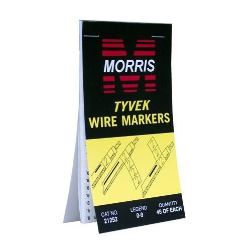 21256 Wire Marker Booklet A-Z 0-15 +  - /