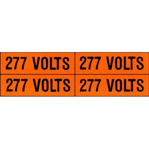(4)Volt Markers 480V (5 Pack)
