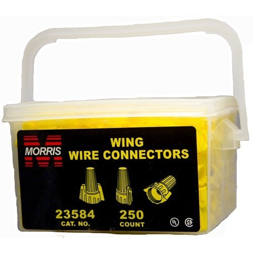 Twisted Wing Connectors Yellow Handy Pack