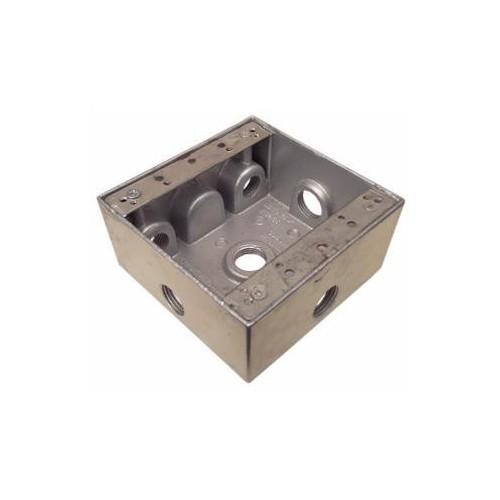 """WP 2 Gang Box 6-3/4"""" Holes"""