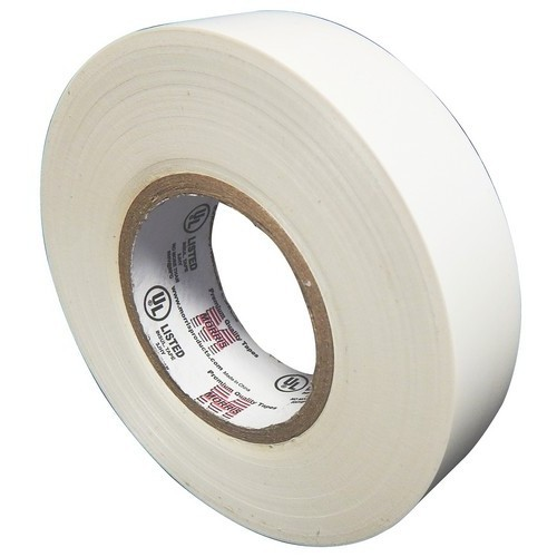 MOR60020 VINYL PLASTIC ELECTRICAL TAPE 7MIL X 60 PVC WHITE, MORRIS PRODUCTS