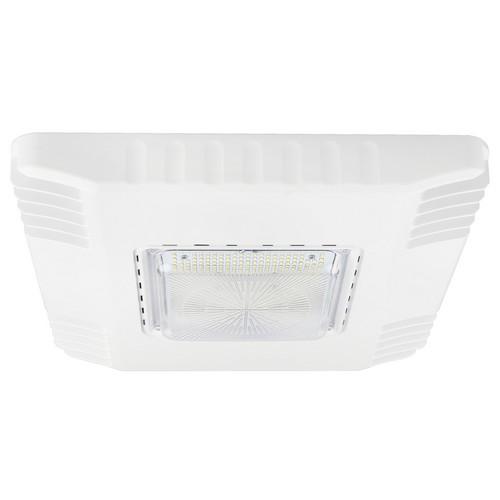 71411A LED Gas Station Canopy Light 120 Watt 15802 Lumens