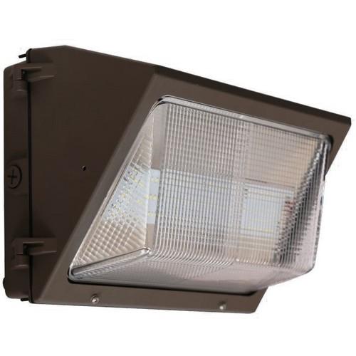 LED Medium Classic Wallpacks 45W 5,490 Lumens 5000K Bronze