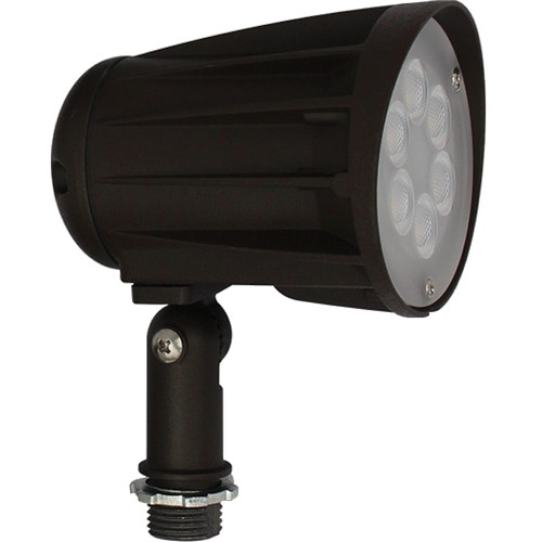 71679A LED Designer Bullet Flood 15W 65° 5000K 120-277V Bronze