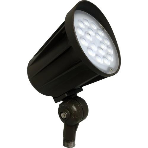 71687A LED Designer Bullet Flood 28W 65° 5000K 120-277V Bronze