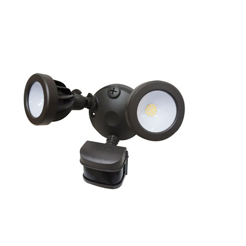 Industrial electrical supply morris products led motion activated security flood lights dual head 24 watts bronze 3000k our led motion activated security light saves energy on your outdoor security aloadofball Image collections