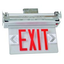 Edge Lit LED Exit Sign