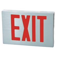 Decorator LED Exit Sign Cast Aluminum LED Exit Sign