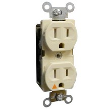 Isolated Ground TamperProof Duplex Receptacles