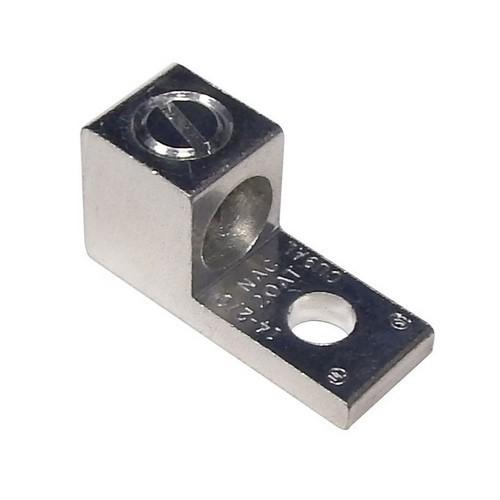 90713 Aluminum Mechanical Lug 1-Conductor 1-Hole Mount #6-#14 AWG