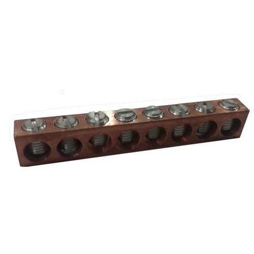 Neutral Bars - Copper #14 - #2  6 Circuit