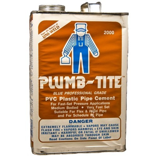 Gallon Plumb-Tite 2000 Wet Application Blue Cements